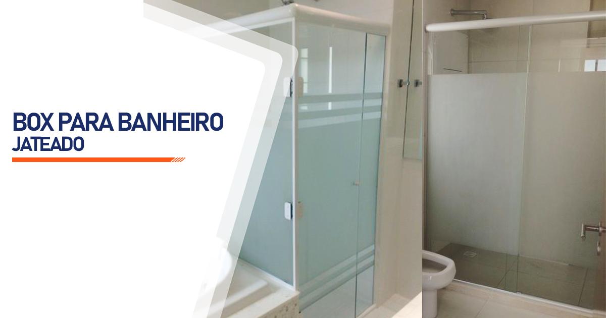Box Jateado para Banheiro Cotia
