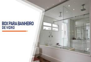 Box para Banheiro de Vidro Cotia