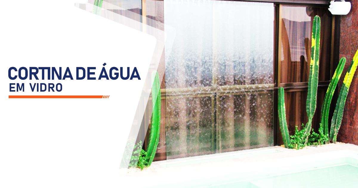 Cortina de Agua em Vidro Cotia