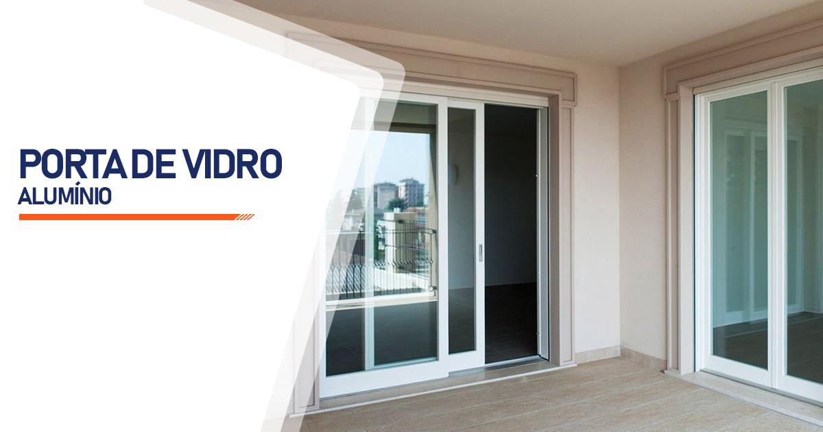 Porta De Vidro Aluminio Cotia