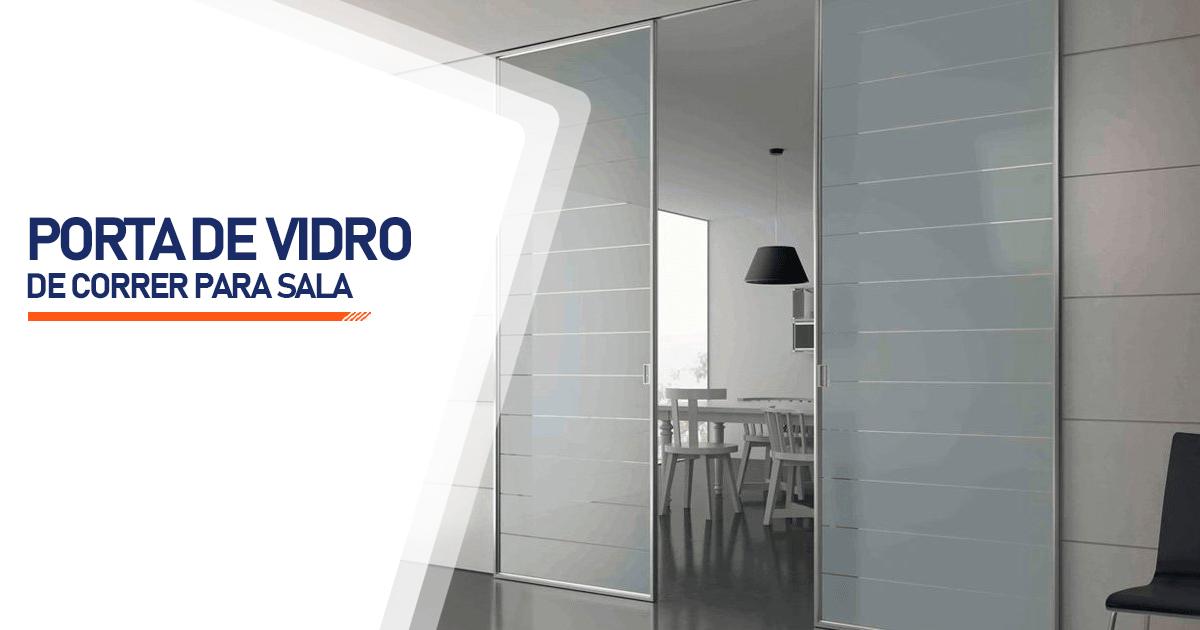 Porta De Vidro De Correr Para Sala Cotia